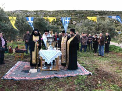 Θεμελίωση Ιερού Παρεκκλησίου στην Άσκρη