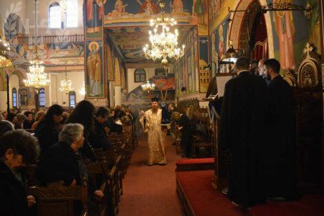 Ε΄ Κατανυκτικός Εσπερινός στον Ι.Ν.Αγίου Γεωργίου Ελευθερίου
