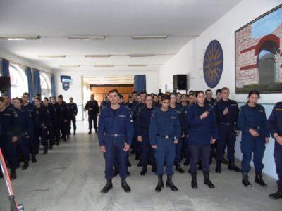 Δ΄ Χαιρετισμοί στην Σχολή Δοκιμών Αστυφυλάκων Διδυμοτείχου