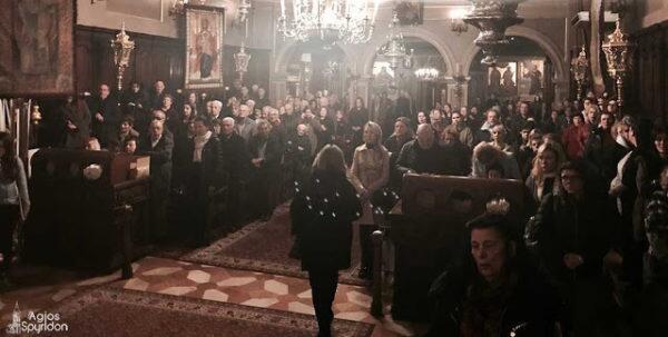 Ακάθιστος Ύμνος-Κερκύρας Νεκτάριος: Στην Εκκλησία δεν χωρούν ούτε εγωϊσμοί ούτε φιληδονία