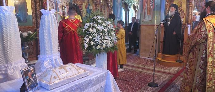 Αρχιερατική Χοροστασία στον Ιερό Ναό Εισοδίων της Θεοτόκου Σταυρού