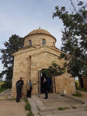 Κύπρος: Θεία Λειτουργία στην κατεχόμενη Μονή Αποστόλου Βαρνάβα για πρώτη φορά