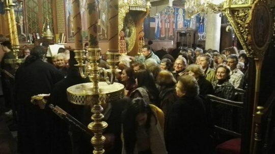 Κατανυκτικός Εσπερινός στον Καθεδρικό Ναό Αγ. Σπυρίδωνος Κισάμου