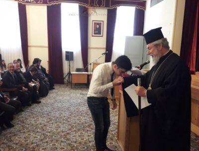 Κύπρος: Τελετή Βράβευσης του 11ου Παγκύπριου Μαθητικού Διαγωνισμού