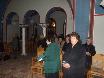 Ο Κορίνθου Διονύσιος στο Μητροπολιτικό Ιερό Παρεκκλήσιο της Αγίας Φωτεινής