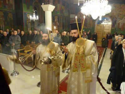 Καστοριά: Β' Χαιρετισμοί στον Ναό Αγίων Κωνσταντίνου και Ελένης