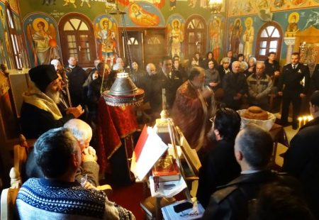 Εορτασμός του Οσίου Ιωνά του Λερίου στην Μονή Αγίων Αγγέλων