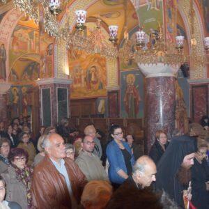Η Ακολουθία του Ακαθίστου Ύμνου στην Ιερά Μονή Αγίου Ιωάννου Προδρόμου-Μακρυνού