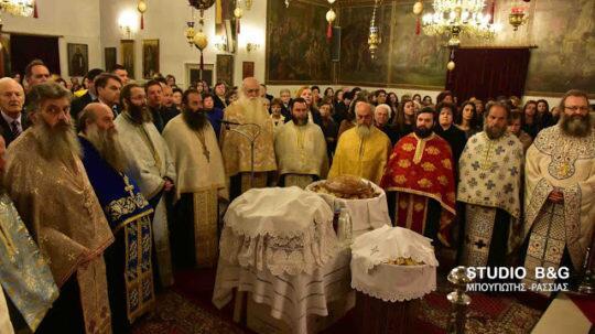 Αργολίδα: Η Θεομητορική εορτή του Ευαγγελισμού της Θεοτόκου στα Φίχτια
