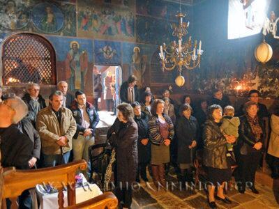 Ιωάννινα: Θεία Λειτουργία στη Μονή Ρωμανού
