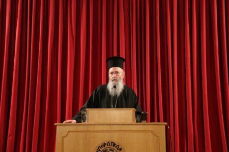 Ιωάννινα: Ο Ναυπάκτου Ιερόθεος παρουσίασε το νέο του βιβλίο