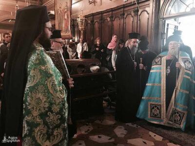 Κυριακή των Βαΐων: Πλήθος πιστών στον Εσπερινό στην Κέρκυρα