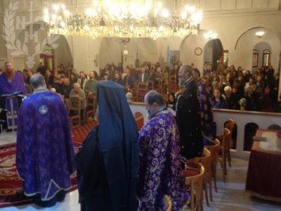 Ιερό Ευχέλαιο στον Ιερό Ναό Αγίων Τριών Ιεραρχών Ευόσμου