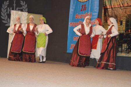 Το Παιδικό Χορευτικό του Ι.Ν.Αγίου Παντελεήμονος Πολίχνης στο 23ο Παιδικό Φεστιβαλ Παραδοσιακών χορών