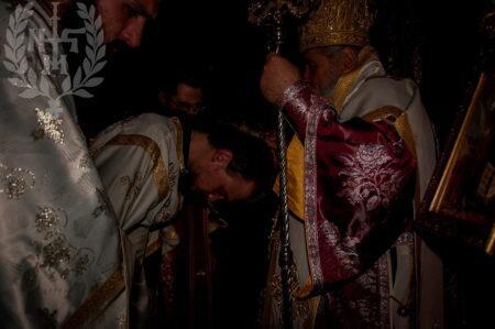 Ο Νεαπόλεως Βαρνάβας στο Άγιο Όρος-Χειροτονίες Πρεσβυτέρου και Διακόνου