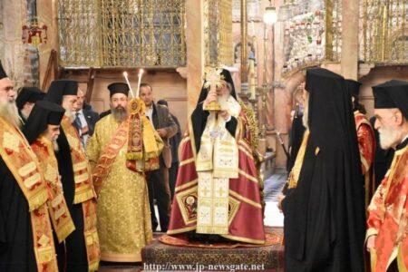 25η Μαρτίου στο Πατριαρχείο Ιεροσολύμων