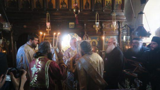 Άγιο Όρος: Λαμπρή Εορτή του Αγίου Γρηγορίου Παλαμά στην Εσφιγμένου