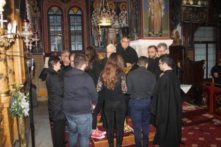 Η ακολουθία των Προηγιασμένων Τιμίων Δώρων στον Ι. Ναό Αγίου Νικολάου Δ.Δ. Μαυρομματίου