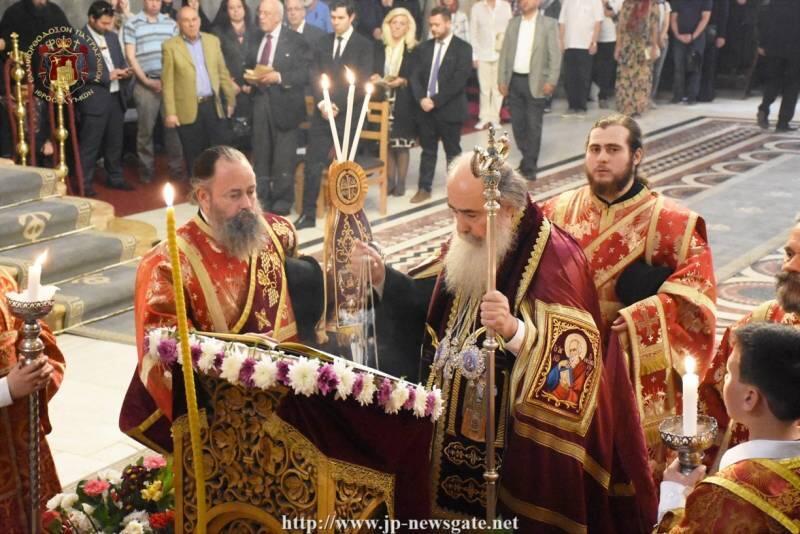 Ιεροσόλυμα: Ο Ακάθιστος Ύμνος στο Ναό της Αναστάσεως