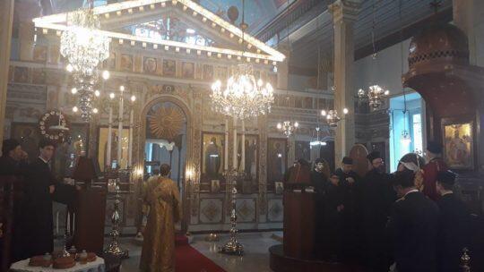 Ο Οικουμενικός Πατριάρχης στον πανηγυρίζοντα Ιερό Ναό Ευαγγελισμού της Θεοτόκου Βαφεοχωρίου