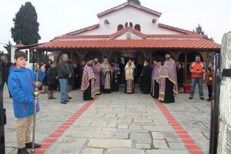 Η εικόνα της Παναγίας Ξυνιάδος στον Ναό Αγίου Γεωργίου Παλαιομύλου
