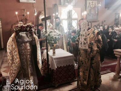 Κέρκυρα: Κυριακή της Σταυροπροσκυνήσεως στον Ναό Κωνσταντίνου και Ελένης