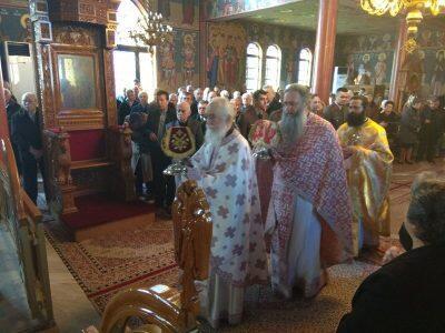 Β΄ Κυριακή των Νηστειών στην Ιερά Μητρόπολη Τρίκκης και Σταγών