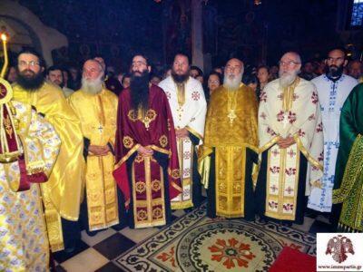 Σπάρτη: Με εκκλησιαστική μεγαλοπρέπεια η πανήγυρη της Ι.Μ Αγίων Τεσσαράκοντα Μαρτύρων