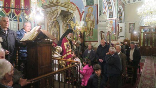Κίμωλος: Δ΄ Χαιρετισμοί στον Ναό της Παναγίας της Οδηγητρίας