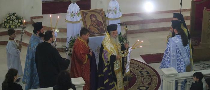 Λαμία: Η Β΄ Στάση των Χαιρετισμών στον Ιερό Ναό Αγίας Σοφίας