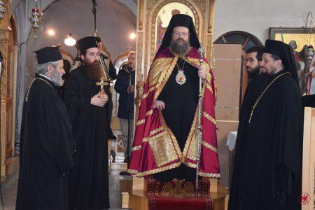 Η Ακολουθία των Β΄ Χαιρετισμών στον Ναό Κοιμήσεως της Θεοτόκου Καματερού Σαλαμίνος
