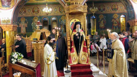 Η Ακολουθία του Ακαθίστου Ύμνου στον Ι. Ναό Αγίου Δημητρίου Ναυπάκτου