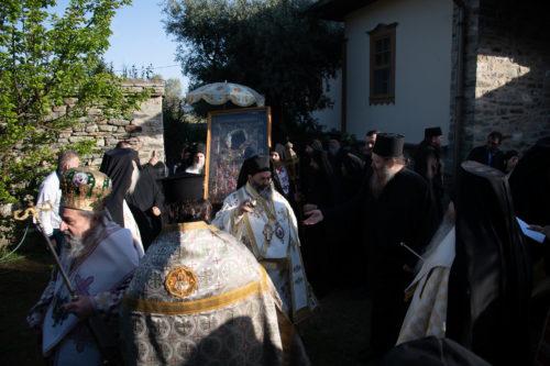 Άγιο Όρος: Ιερά Πανήγυρις στην Ιερά Σταυροπηγιακή Μονή των Ιβήρων