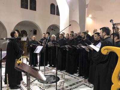 Κατερίνη: Πλήθος κόσμου στον Ι.Ν. Αγίων Χριστοφόρου και Ευθυμίου για την εκδήλωση «Ατενίσαι την Ανάστασιν»