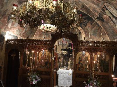 Χριστός Ανέστη από την ιστορική Μονή που έζησε ο Άγιος Πορφύριος-Να έχετε όλοι την ευλογία του Κυρίου