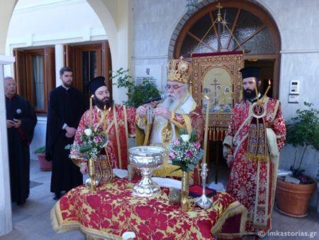 Καστοριά: Ιερά Πανήγυρις Αγίων Ραφαήλ, Νικολάου και Ειρήνης