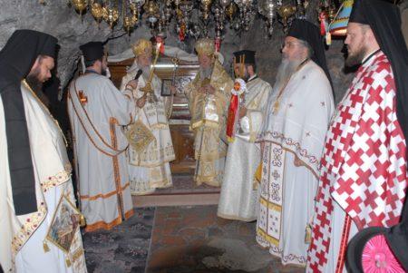 Μονή Παταπίου: Πανήγυρη Ευρέσεως του Ιερού Σκηνώματος