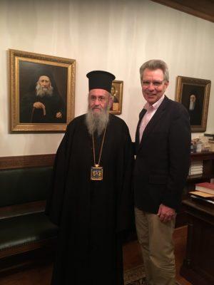 Αμερικανός Πρέσβης από Άγιο Όρος: Είναι ένα πραγματικά πνευματικό μέρος