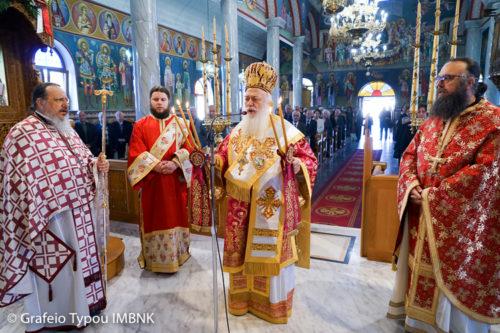 Άγιος Γεώργιος: Πανηγύρισε ο Ναός Αγίου Γεωργίου Σταυρού Ημαθίας
