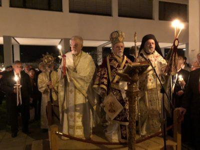 Με κατάνυξη εορτάσθηκε το άγιο Πάσχα στην Ιερά Μητρόπολη Ελβετίας