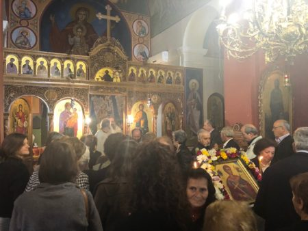 Τη μνήμη του Αγίου Νεομάρτυρος Δημητρίου τίμησε η Μητρόπολη Πατρών