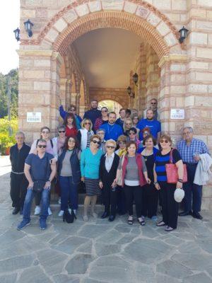 Προσκυνηματική αποδημία στην Πελοπόννησο της Ενορίας Αγίου Νικολάου Ερμουπόλεως