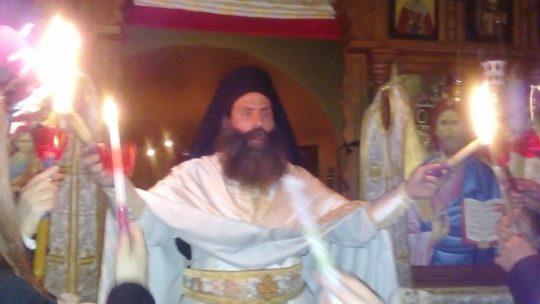 Ανάσταση στην Ιερά Μονή Θεοτόκου Καλλίπετρας