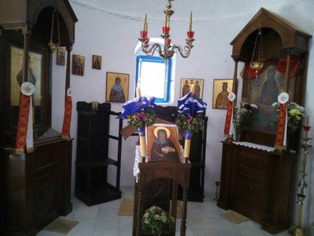 Μαθητές από τη Σίκινο στην Ιερά Μονή Χρυσοπηγής