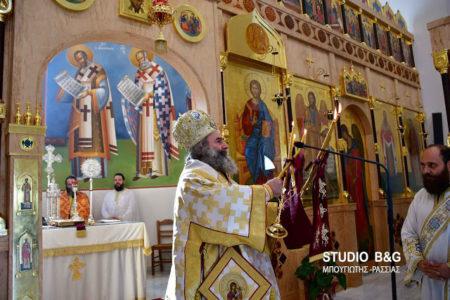 Αργολίδα: Πολυαρχιερατική Θεία Λειτουργία και μια όμορφη συνάντηση στον Άγιο Λουκά