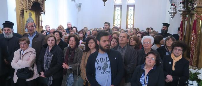500 Φθιώτες στη Μητρόπολη Κίτρους και Κατερίνης