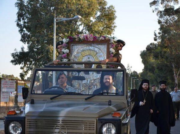 Η Κύπρος υποδεχθηκε τη θαυματουργή εικόνα της Παναγίας «Βουρλιωτίσσης»