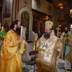 Η Κυριακή των Βαΐων στον Μητροπολιτικό Ναό της Ελευσίνος