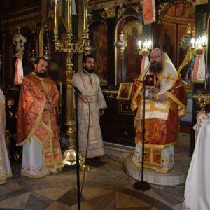 Κυριακή του Θωμά στον Ναό Εισοδίων της Θεοτόκου–Αμπελακίων Σαλαμίνος