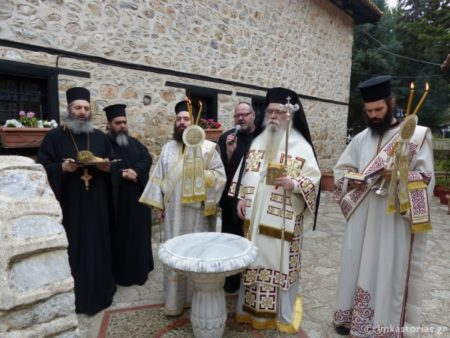 Καστοριά: Πασχάλια Ιερατική Συνάντηση στην Μονή Παναγίας Μαυριωτίσσης